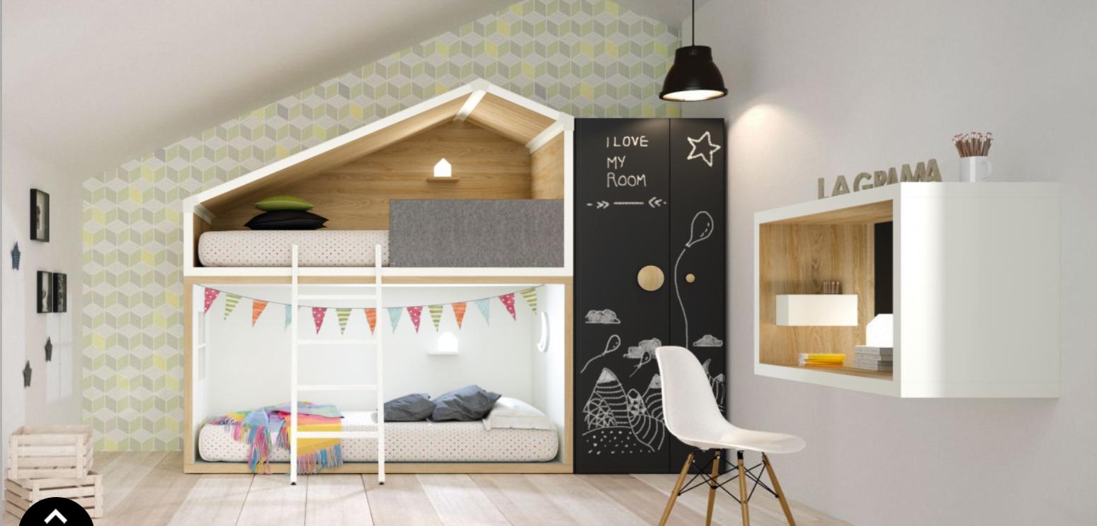 Le lit cabane enfant le r ve de tous les petits aventuriers for Un poco chambre separee