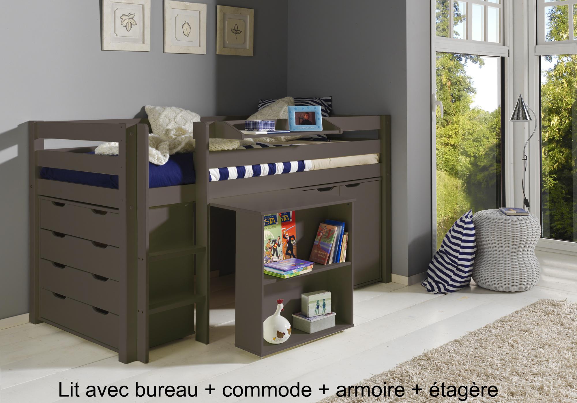 tous les conseils pour choisir son lit mi hauteur enfant. Black Bedroom Furniture Sets. Home Design Ideas