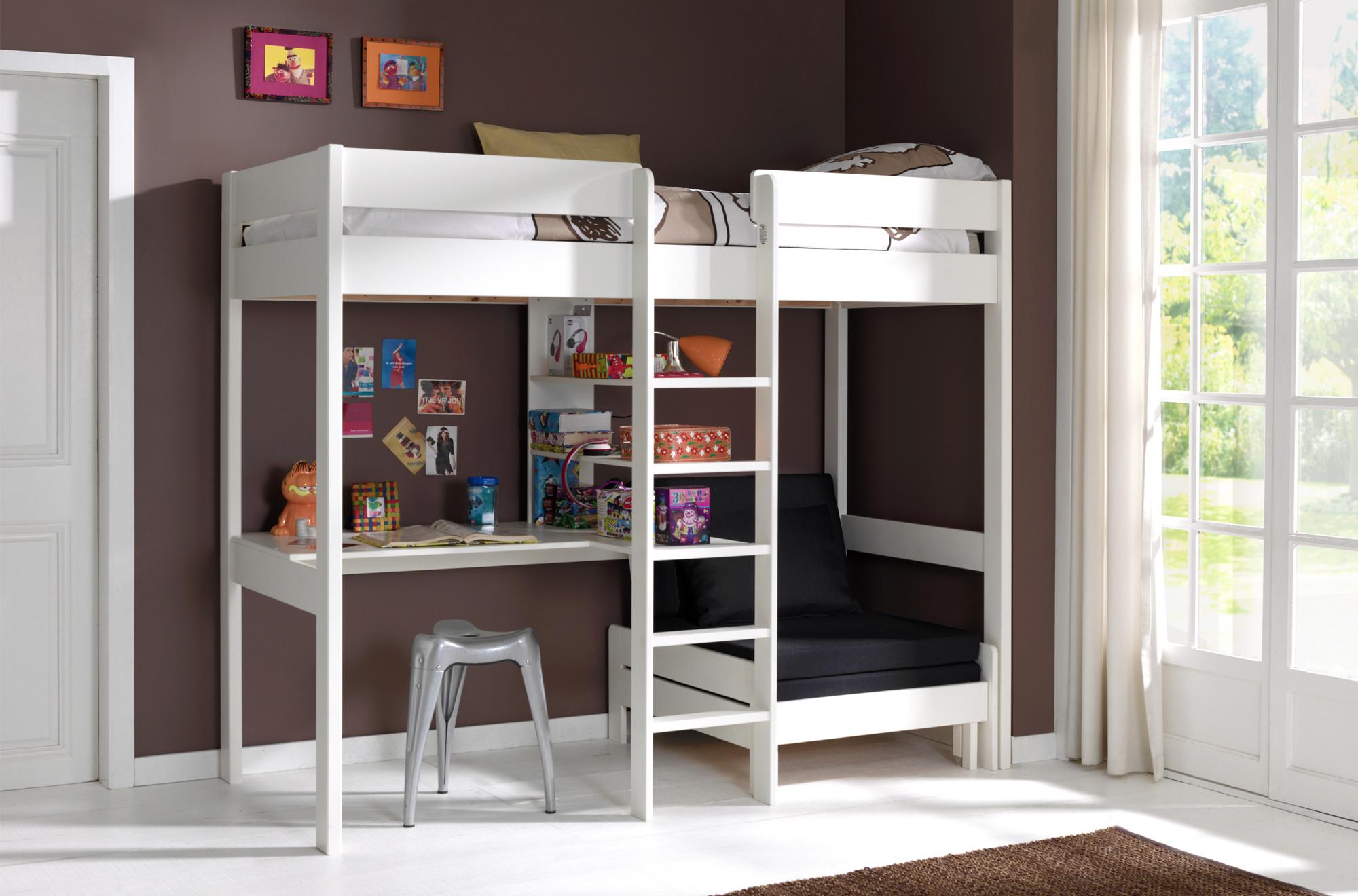 le lit mezzanine en bois a le vent en poupe depuis. Black Bedroom Furniture Sets. Home Design Ideas
