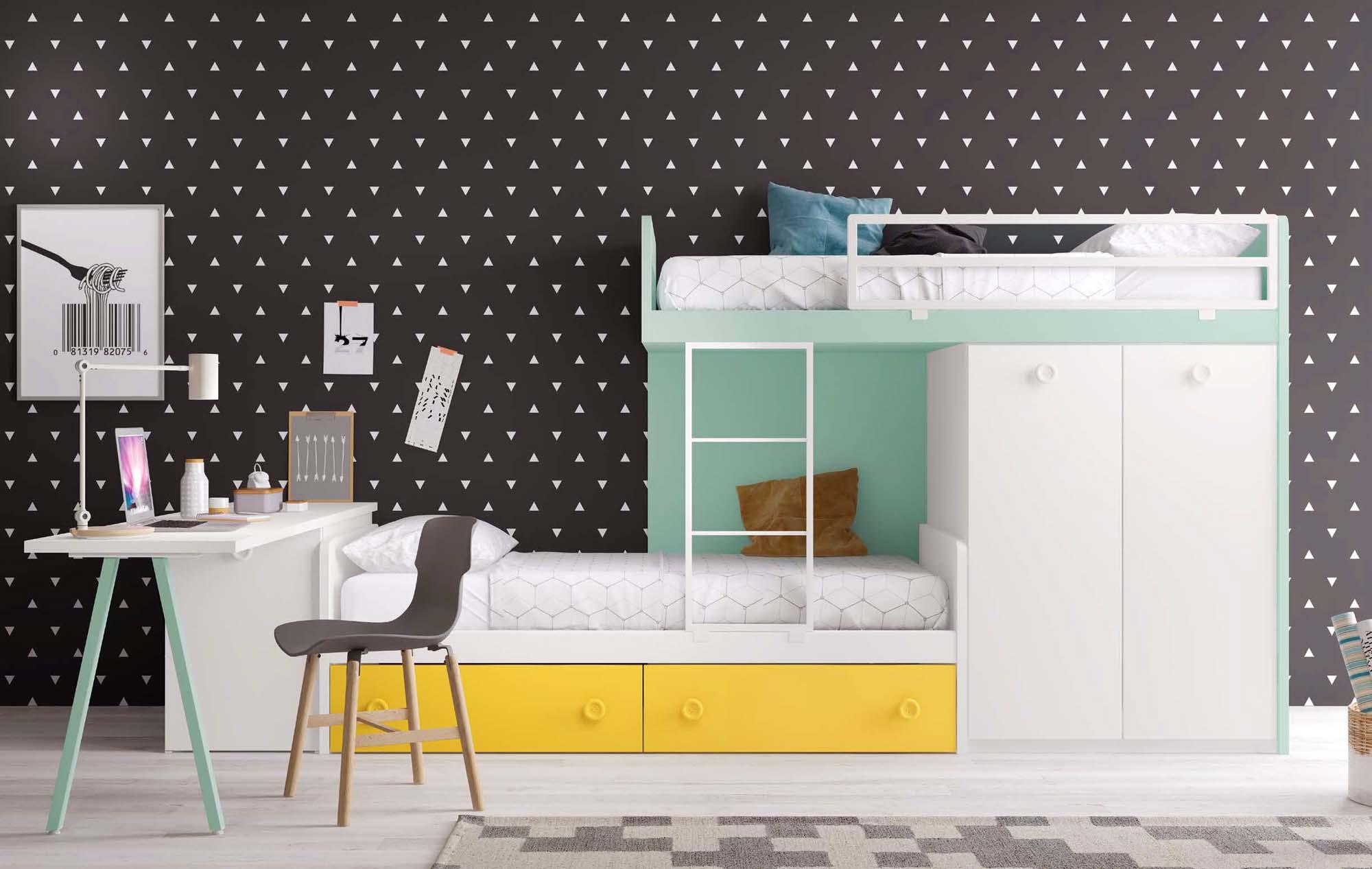 finest lits superposs enfants f glicerio with lits jumeaux. Black Bedroom Furniture Sets. Home Design Ideas